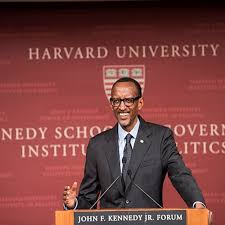 His Excellency Paul Kagame at the Harvard Kennedy School